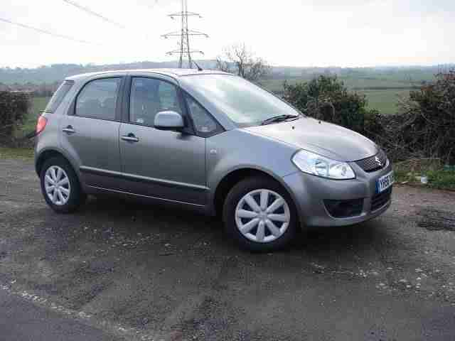 Suzuki SX4 1.6. Suzuki car from United Kingdom