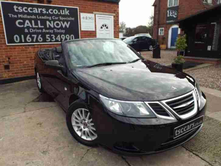 Saab 9-3 1.8 T Linear SE Convertible Leather Heated Seats PETROL MANUAL 2008/08