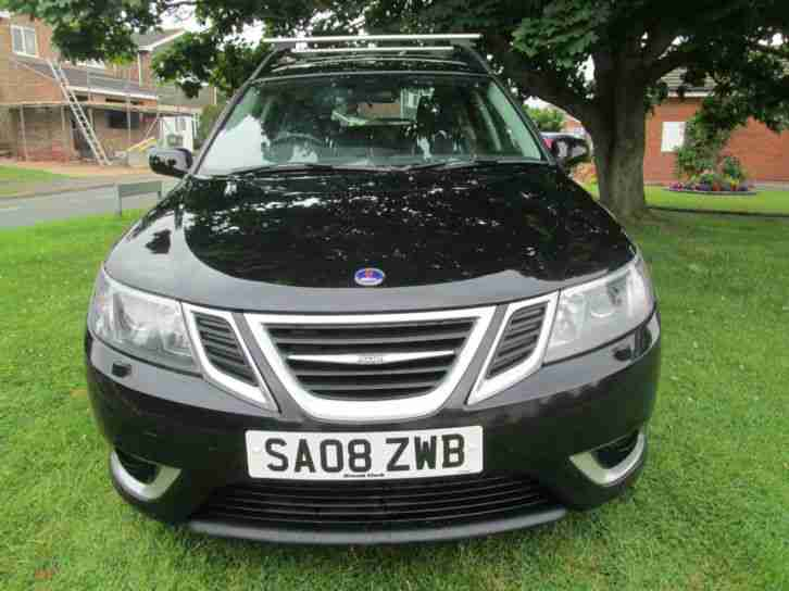 Saab 9-3 1.9TTiD ( 180ps ) SportWagon 2008MY Aero 1 OWNER FULL HISTORY !!