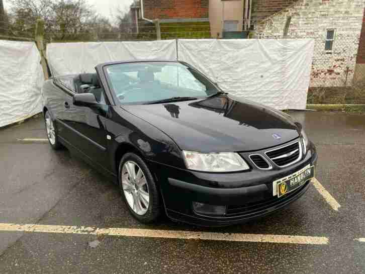 Saab 9 3 1.9TiD ( 150ps ) 2007 57 Convertible Anniversary, Heated Leather, Nav