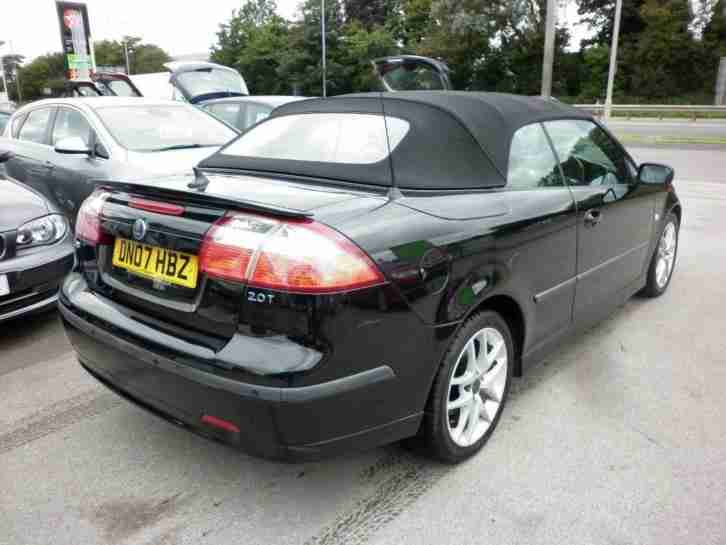 Saab 9-3 2.0 T Vector manual with full leather PETROL MANUAL 2007/07