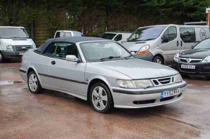 9 3 2.0t SE Convertible 2002 + Heated