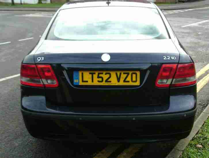 Saab 9-3 2.2TiD 2003MY Arc CAT C VIC CHECK PASSED NO MOT DIESEL
