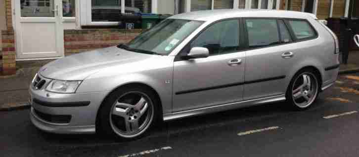 saab 9 3 2 8 v6 turbo aero sportwagon estate 2006 265bhp. Black Bedroom Furniture Sets. Home Design Ideas