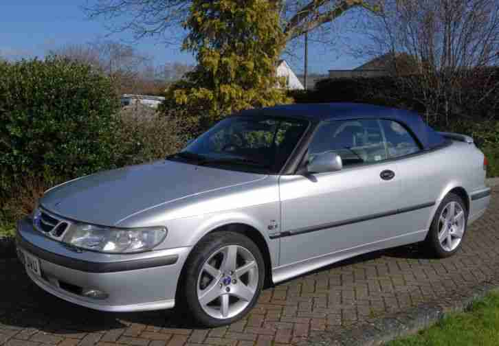 saab 9 3 se turbo auto convertible 2001 2 ltr rear sensors good. Black Bedroom Furniture Sets. Home Design Ideas