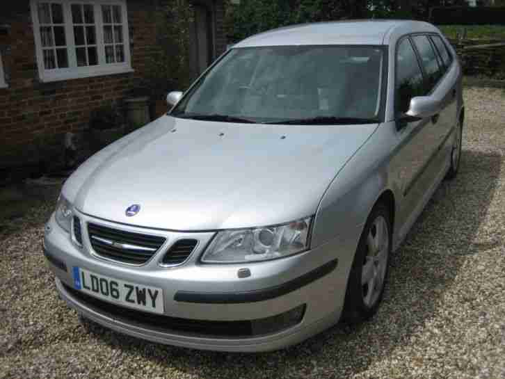 Saab 9 3 Vector Sport 2 0T Estate 2006 FSH 63,000 miles .Two owners.