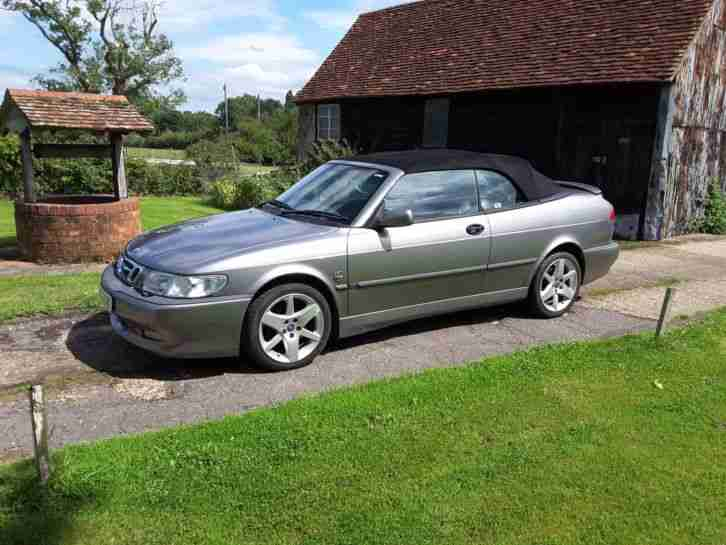 Saab 9 3 convertable 55,000 miles 1 owner 2002.