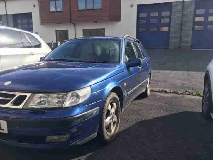 Saab 9 5 2.3 SE Estate Manual Blue