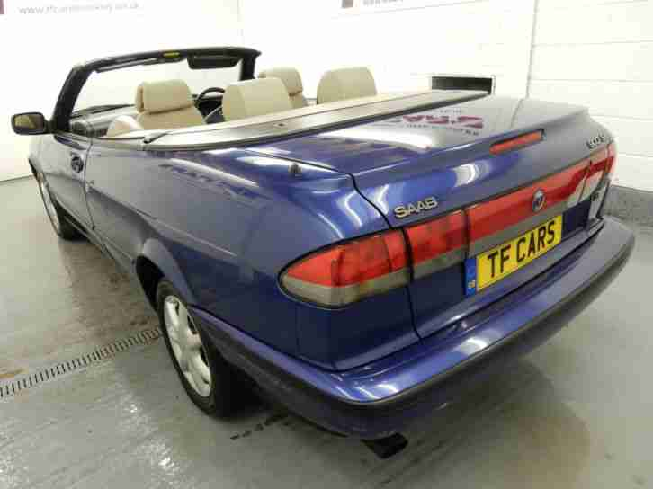 Saab 900 2.3i SE - PRIVATE PLATE INCLUDED!!! GREAT SUMMER BARGAIN!