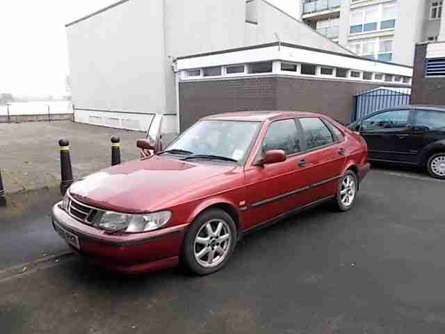 Saab Talladega Car From United Kingdom