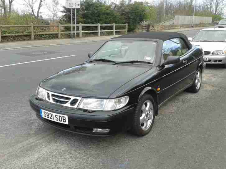 93 SE Convertible 2.0 injection Black