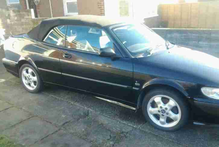 Saab 93 convertible 2.0l 2001 Black