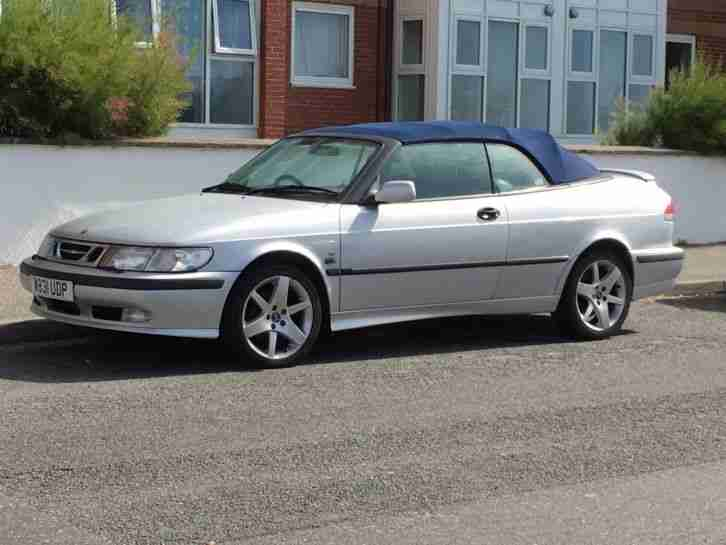 Saab Turbo convertable Cabriolet 93 Year 2000