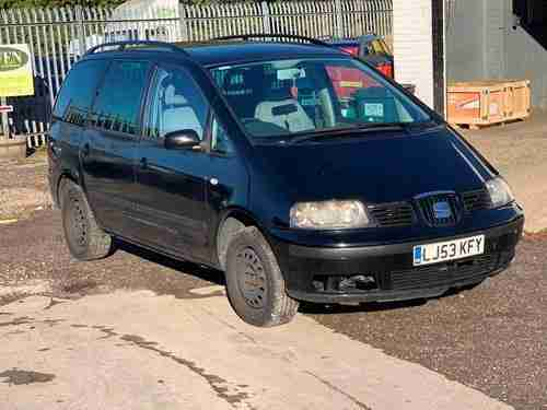 Seat Alhambra 1.9TDi PD 2004MY S CHEAP 7 SEATER + LONG MOT