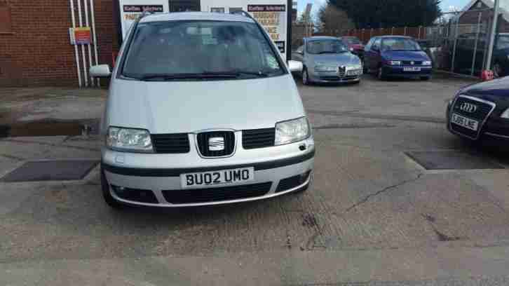 Seat Alhambra 1.9TDi. Seat car from United Kingdom