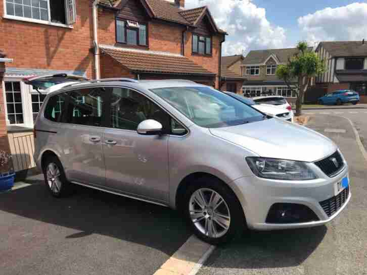 Seat Alhambra 2.0. Seat car from United Kingdom