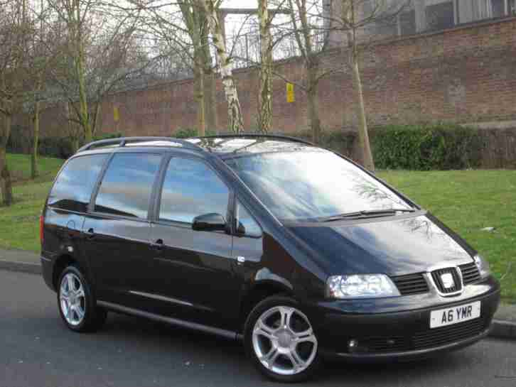 Seat Alhambra 2.0TDI. Seat car from United Kingdom