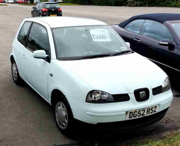 seat arosa 1 0 2003my same as lupo car for sale. Black Bedroom Furniture Sets. Home Design Ideas