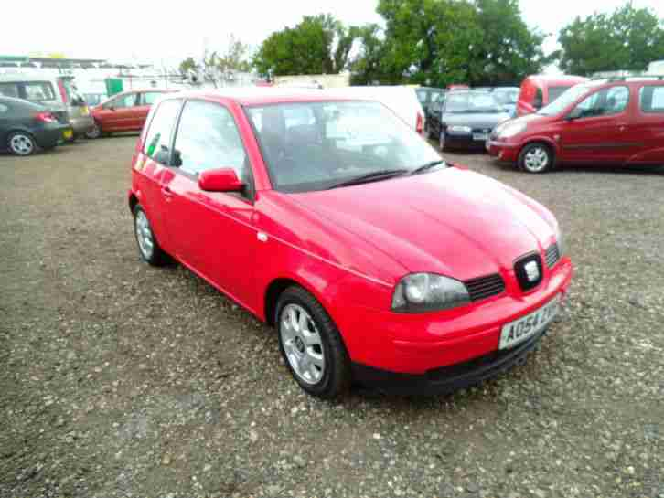 seat arosa 1 0 mpi 3 dr hatch alloys red cheap tax. Black Bedroom Furniture Sets. Home Design Ideas