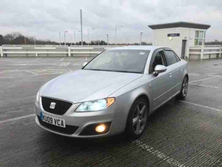 Seat Exeo 2.0TDI CR SPORT.2009..6speed..fully loaded..bargain.audi a4..show car.