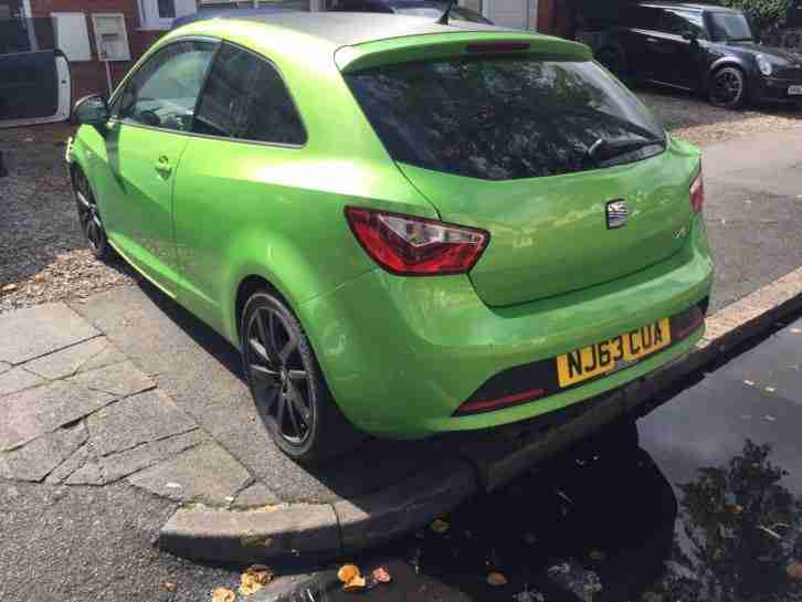 Seat ibiza 1 2 tsi fr sport coupe 3 door 2013 damaged salvage car for sale - Seat ibiza sport coupe fr ...