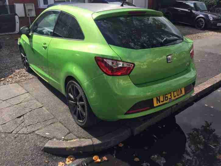 seat ibiza 1 2 tsi fr sport coupe 3 door 2013 damaged salvage car for sale. Black Bedroom Furniture Sets. Home Design Ideas