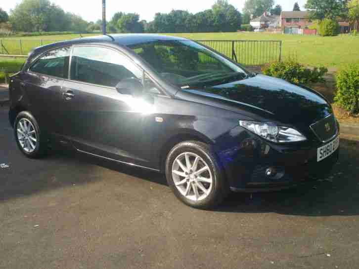 Seat Ibiza 1.2TDI. Seat car from United Kingdom