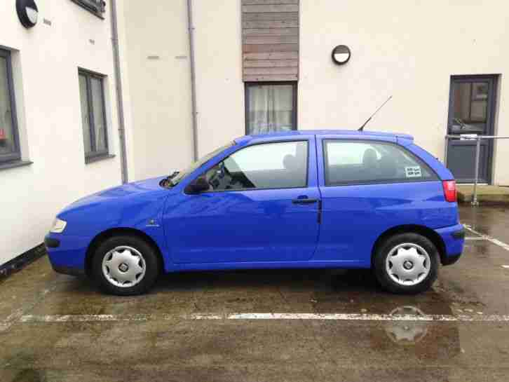 seat ibiza 3dr blue 2001 abs am fm stereo car. Black Bedroom Furniture Sets. Home Design Ideas