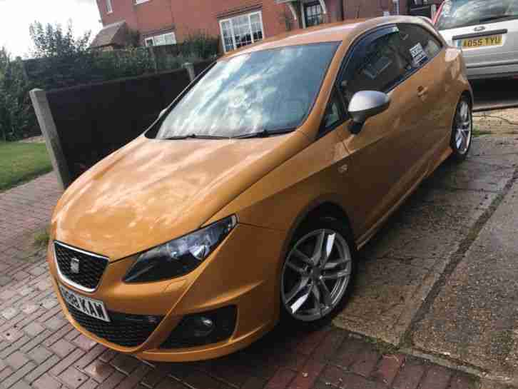 Seat Ibiza 140 FR CR Tdi 2L 2010 Rare Leather interior