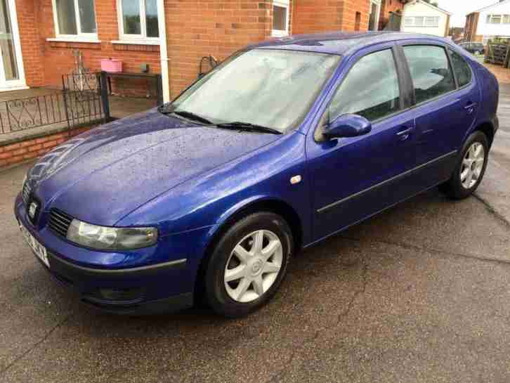 Seat Leon 1.6 s 2005 55 reg Petrol manual 1 LADY OWNER FULL HISTORY