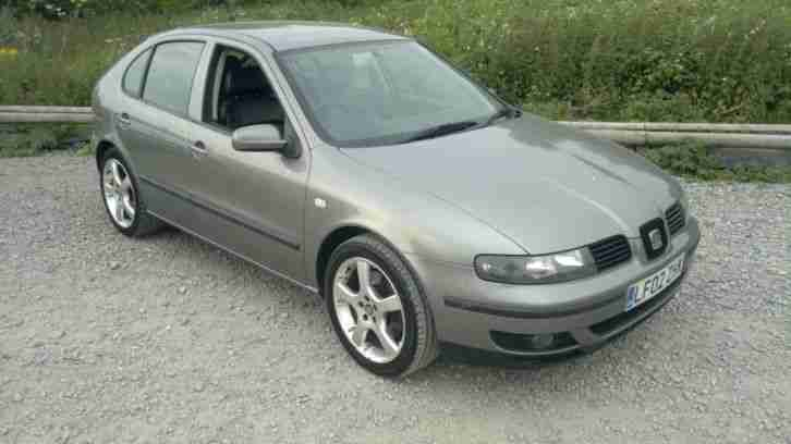 seat leon 1 8 t cupra 20v 5 door 2002 02 breaking for parts. Black Bedroom Furniture Sets. Home Design Ideas