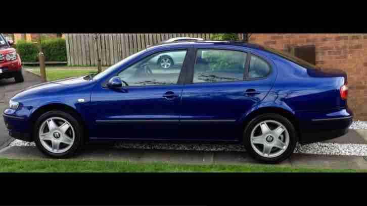 seat toledo v5 170bhp 2004 blue in very good condition car for sale. Black Bedroom Furniture Sets. Home Design Ideas