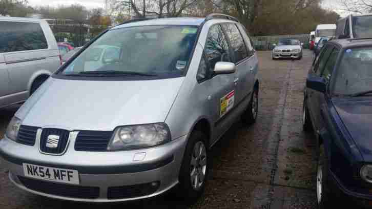 seat alhambra spares or repairs high mileage ex taxi car for sale. Black Bedroom Furniture Sets. Home Design Ideas