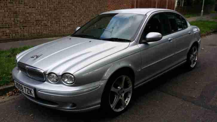 Jaguar Silver X Car From United Kingdom