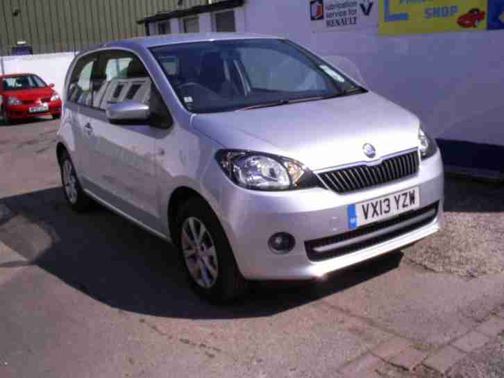 Skoda Citigo 1.0. Skoda car from United Kingdom