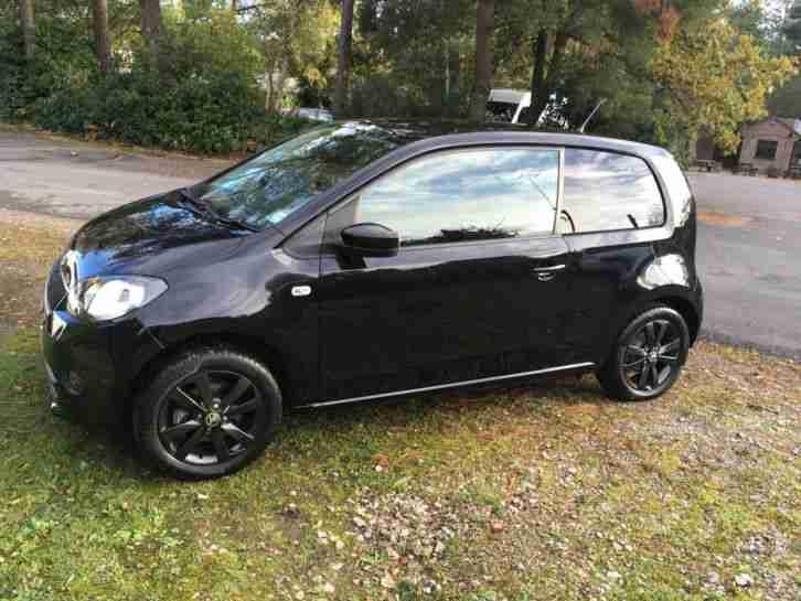 Skoda Citigo Black Edition 1 0mpi 2016 12month Tax And Intial Car