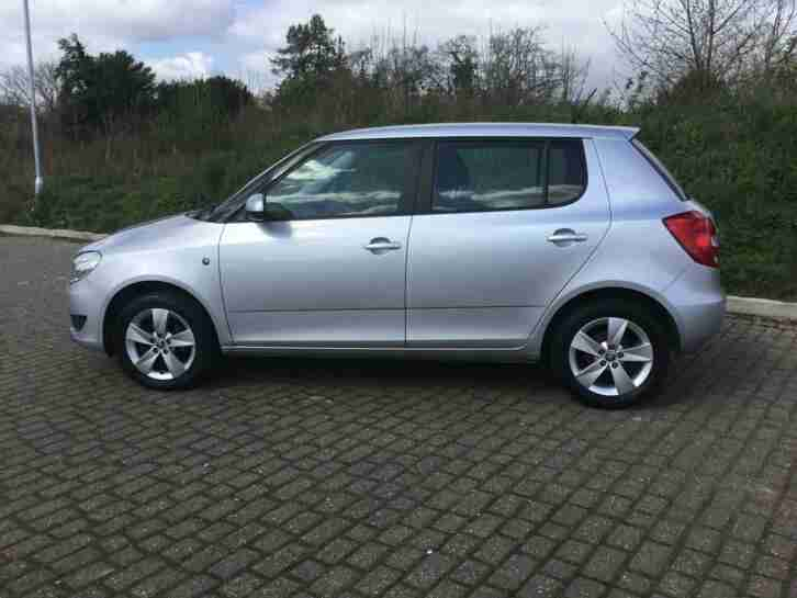 Skoda Fabia 1.2. Skoda car from United Kingdom