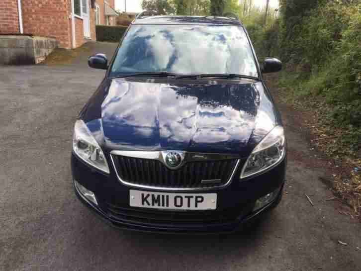 skoda fabia 1 2 diesel estate 2011 greenline for sale zero tax. Black Bedroom Furniture Sets. Home Design Ideas
