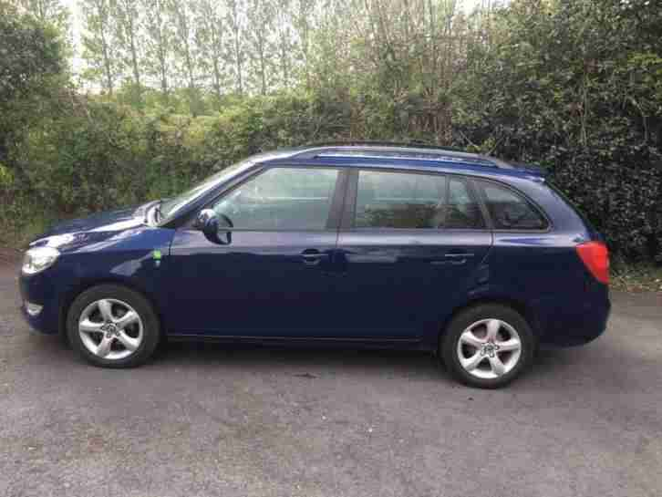 Skoda Fabia 1.2 diesel Estate 2011 Greenline for sale. Zero tax!!!!