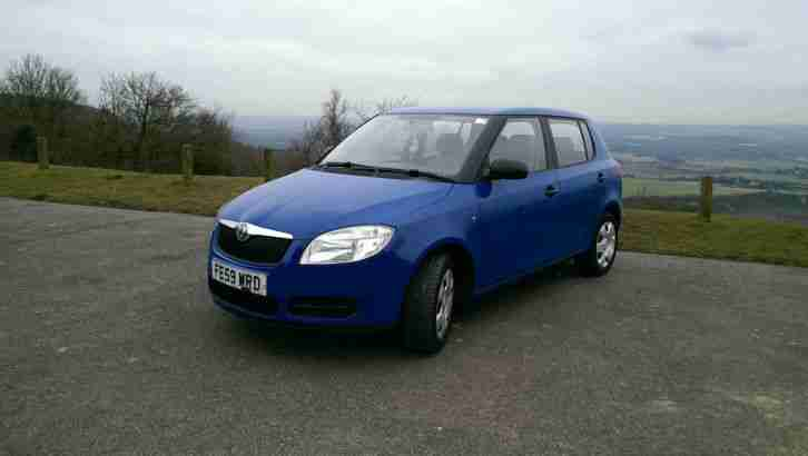 skoda fabia 1 2 htp petrol low mileage new shape car for sale. Black Bedroom Furniture Sets. Home Design Ideas