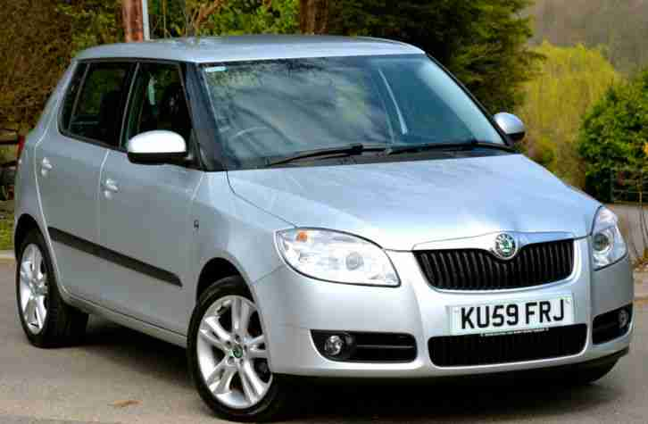 skoda fabia 1 4tdi pd 80bhp 3 silver car for sale. Black Bedroom Furniture Sets. Home Design Ideas