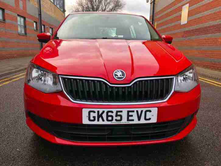 Skoda Fabia 1.4TDI ( s/s ) SE 5dr Red Zero Road Tax Part Ex Welcome