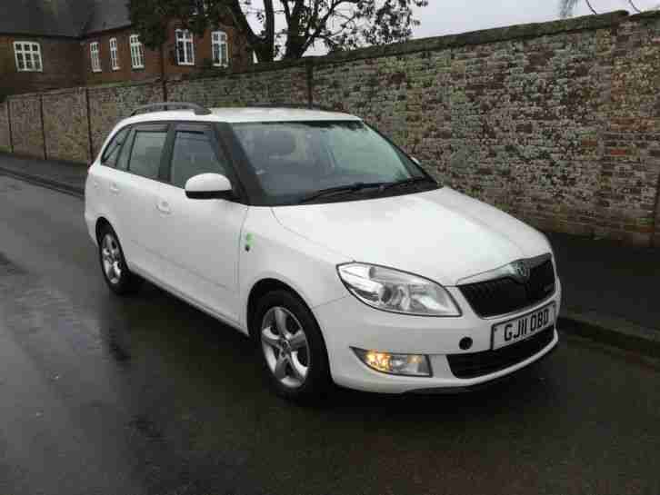 Skoda Fabia Greenline. Skoda car from United Kingdom