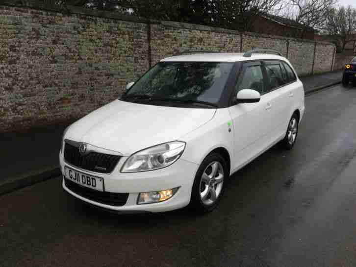 Skoda Fabia Greenline 2 - 1.2 tdi Estate - 2011 11 Reg Great Spec 129,000 Miles