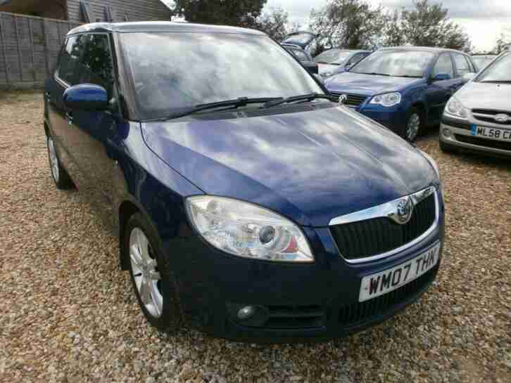 Fabia Level 3 16v 5dr PETROL MANUAL