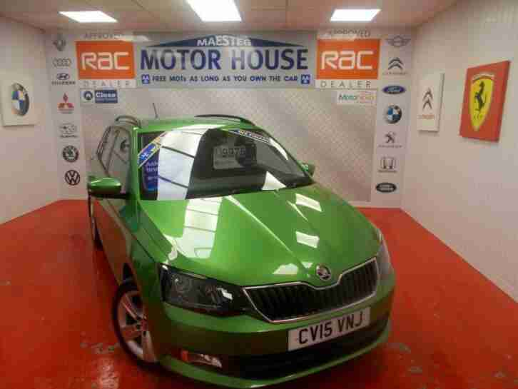Skoda Fabia SE. Skoda car from United Kingdom