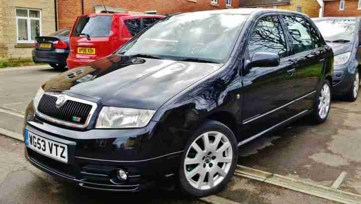 Skoda Fabia VRS. Skoda car from United Kingdom
