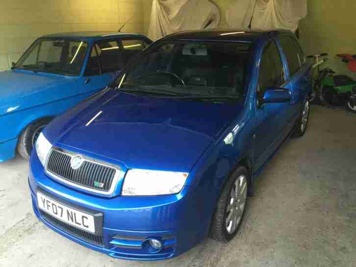 Fabia vrs limited edition
