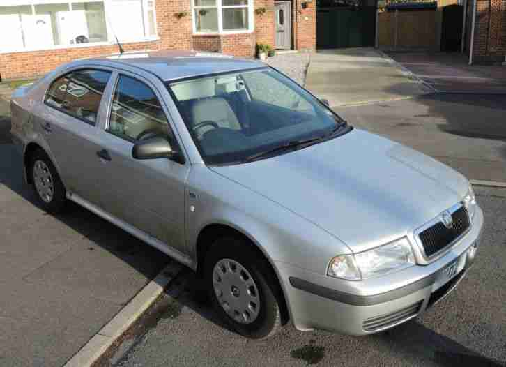 Skoda Octavia 1.9. Skoda car from United Kingdom