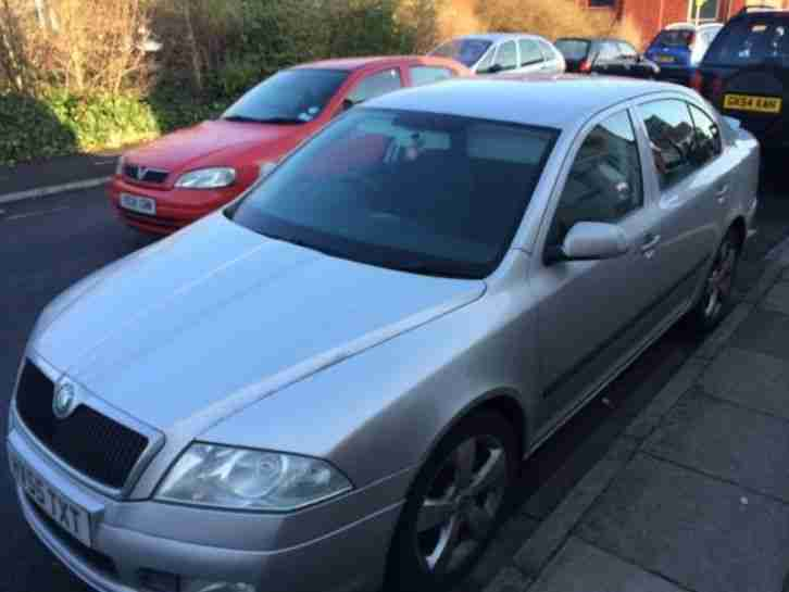 Skoda Octavia Sport. Skoda car from United Kingdom